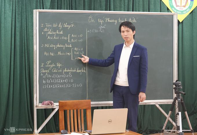 Bộ GD&ĐT cho phép dạy trực tuyến thay thế trực tiếp