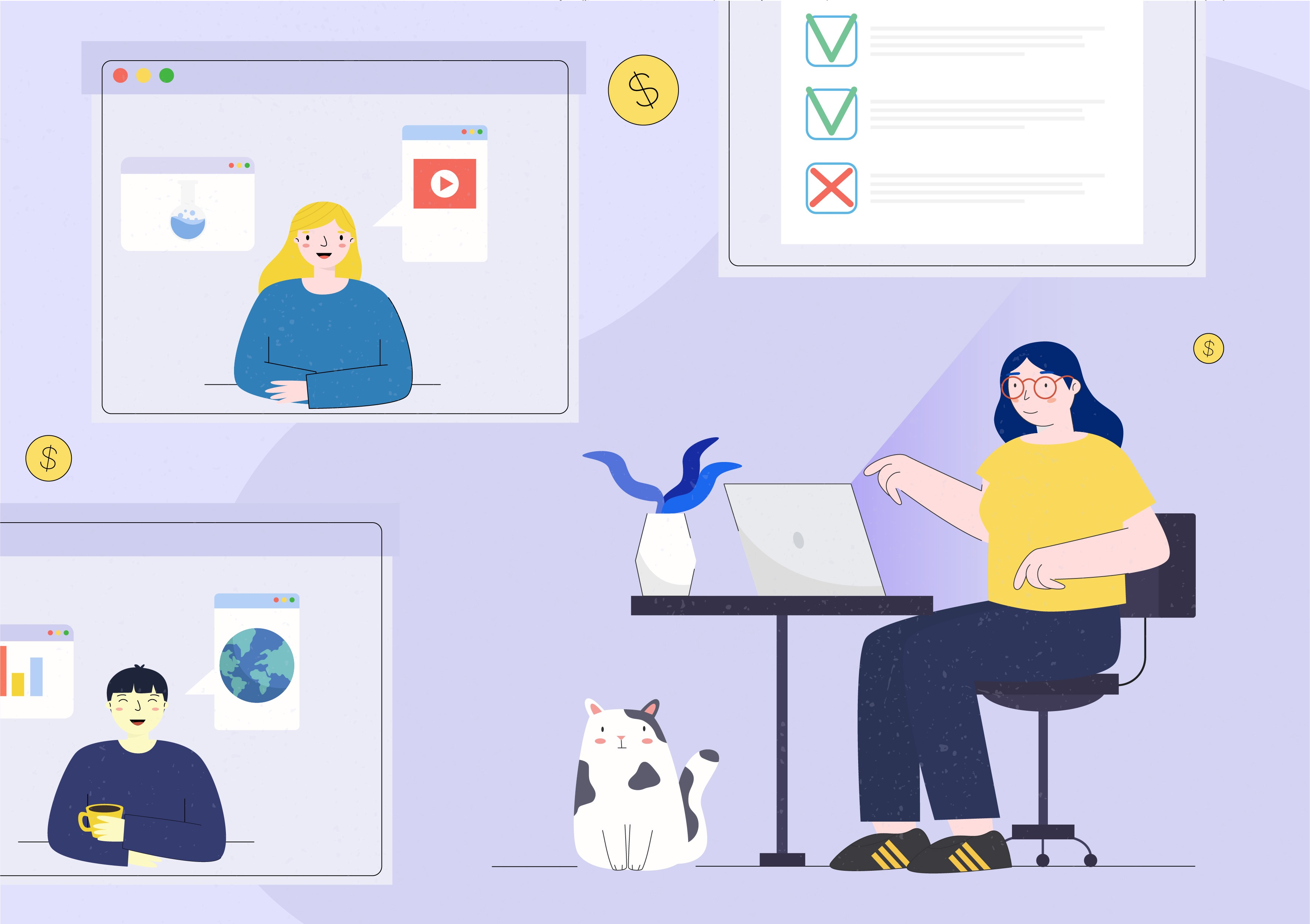 Top 7 nền tảng hỗ trợ thầy, cô kiếm tiền từ chia sẻ nội dung trực tuyến