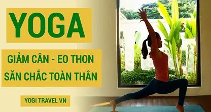 Yoga giảm cân an toàn và săn chắc cơ thể