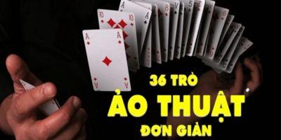 Gây ấn tượng với 36 trò ảo thuật đơn giản